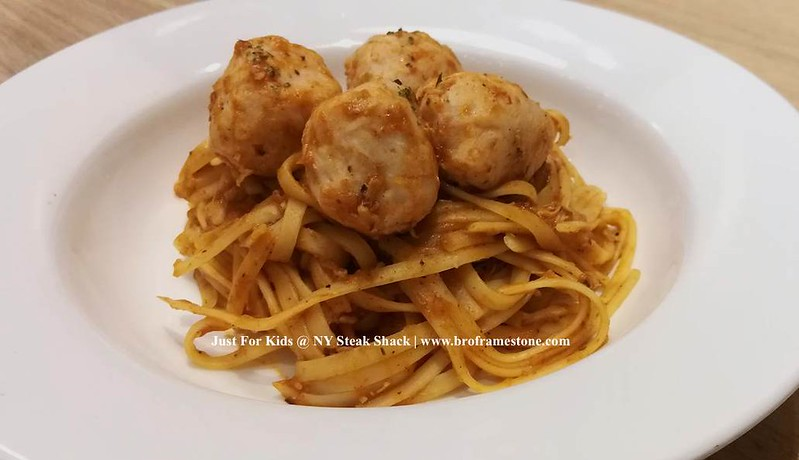 Mighty Chicken Meatball Pasta