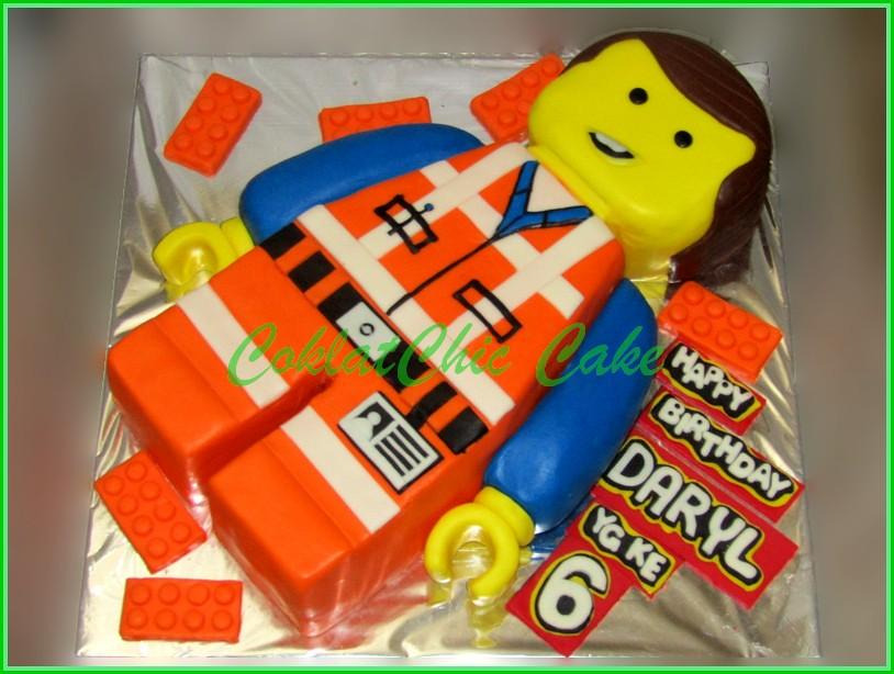 Cake Lego EMMETH DARYL 20 cm