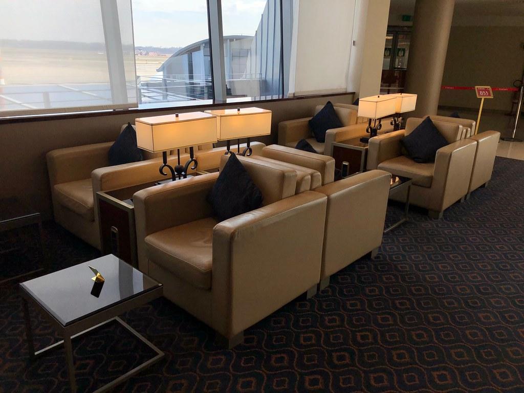 Emirates Lounge Milan MXP 34