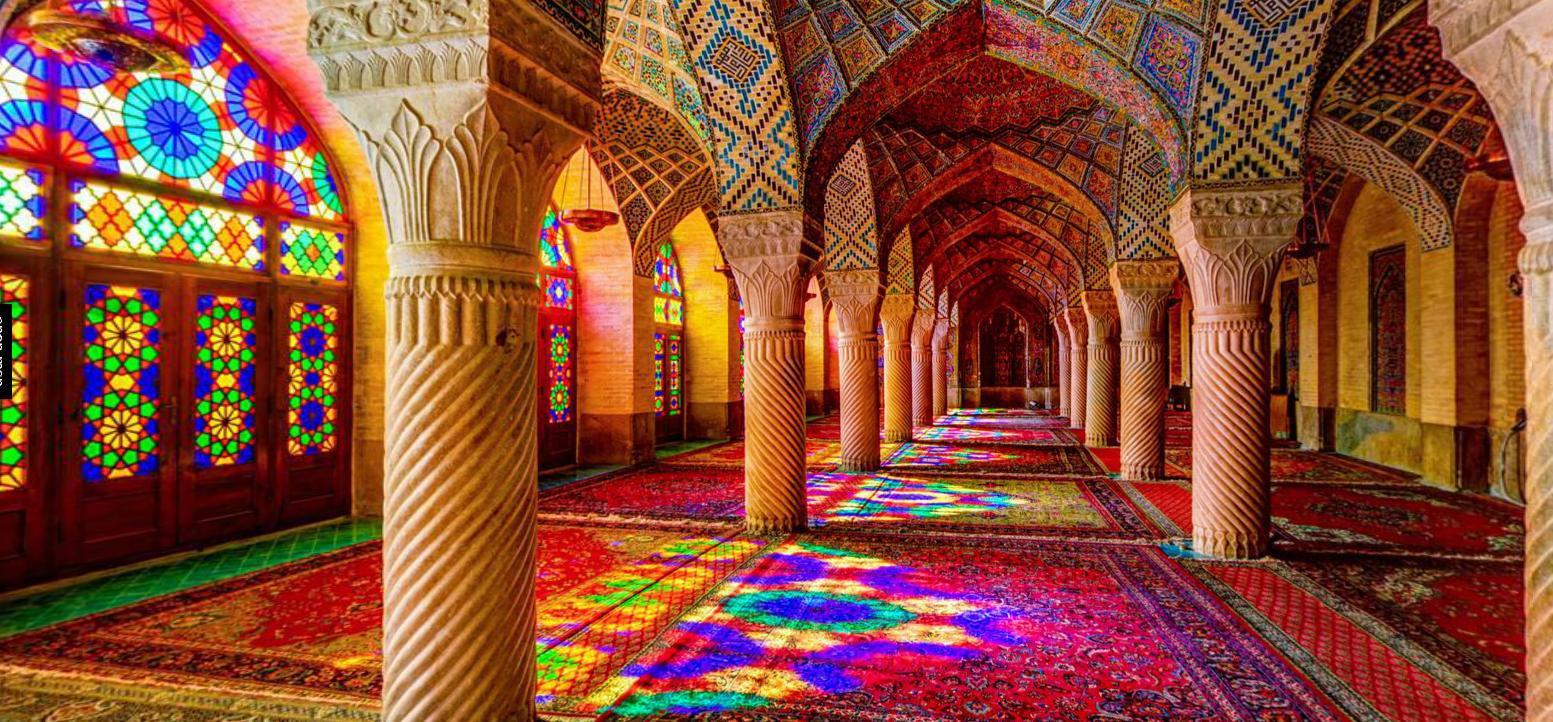 nasir almulk mosque - Shiraz