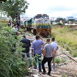 qui, 12/04/2018 - 07:19 - Visita técnica para avaliar as condições de limpeza e manutenção da linha ferroviária que passa na Rua Jornalista João Bosco - 12/04/2018 - Local: Rua Jornalista João Bosco, nº 1080, Bairro Vista AlegreFotos: Bernardo Dias/CMBH
