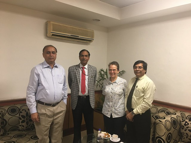 ILRI assistant director general Shirley Tarawali visits India from 26-28 March 2018