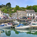 Padstow's inner harbour, Cornwall