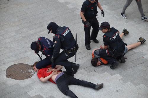 TMEaren aurkako protesta Tabakaleran