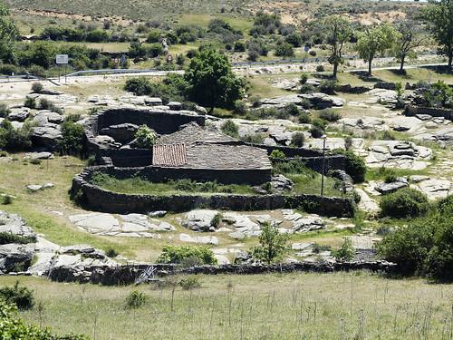Hiendelaencina (Guadalajara). Encerradero de ganado.
