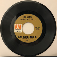 SERGIO MENDES & BRASIL '66:THE LOOK OF LOVE(RECORD SIDE-B)
