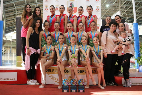 Gimnasia rítmica Dos Hermanas campeona de Andalucía