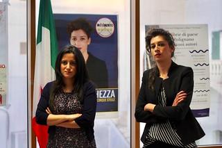 Antonella Laricchia e Maria La Ghezza