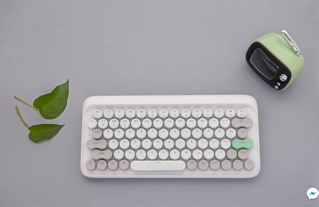 Four Seasons Retro Mechanical Keyboard