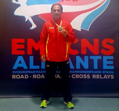 Manuel Domínguez, campeón de Europa de atletismo