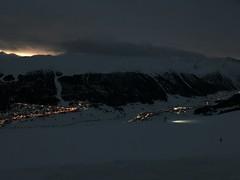 Sonnenaufgang in den Italiennischen Alpen