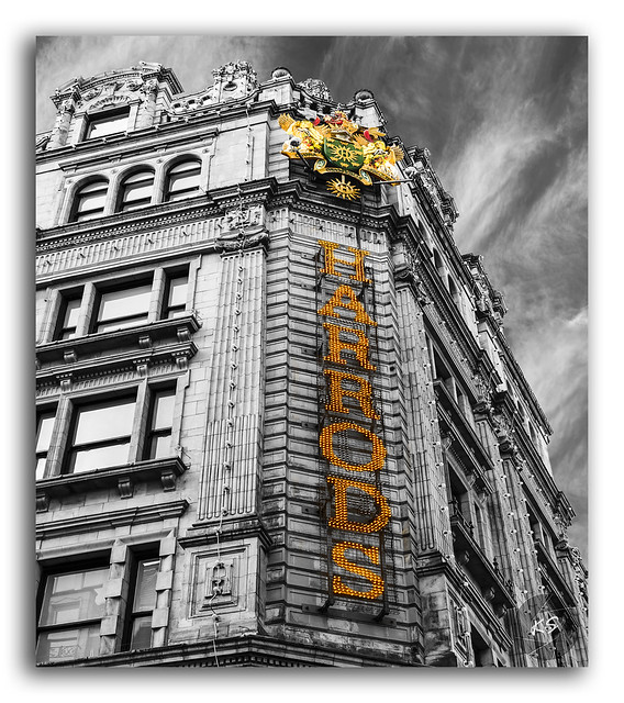 The Harrods store, a shoppers delight!