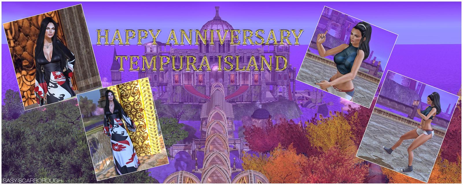 Happy Anniversary Tempura Island