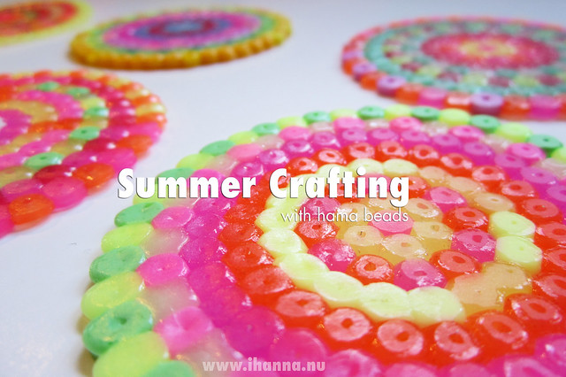 Summer Craft Idea: Play with Perler Beads (hama beads)