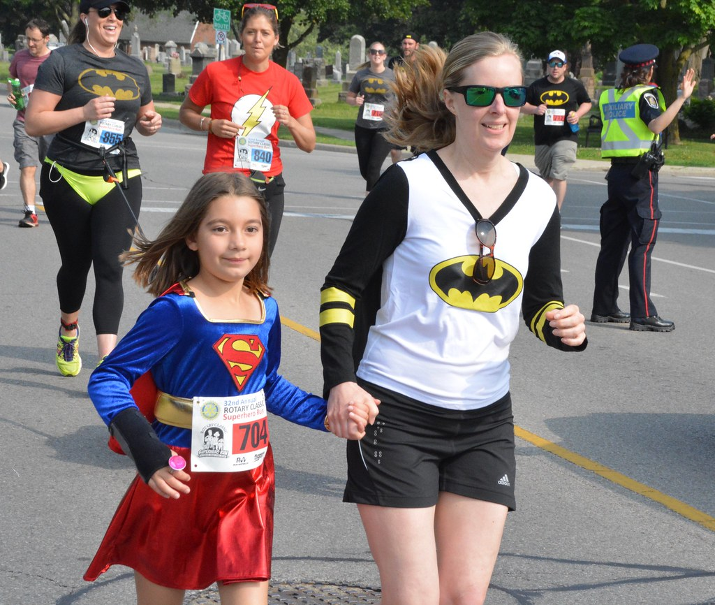 "2018 ""Rotary Classic Superhero Run"" Sneak Peak"