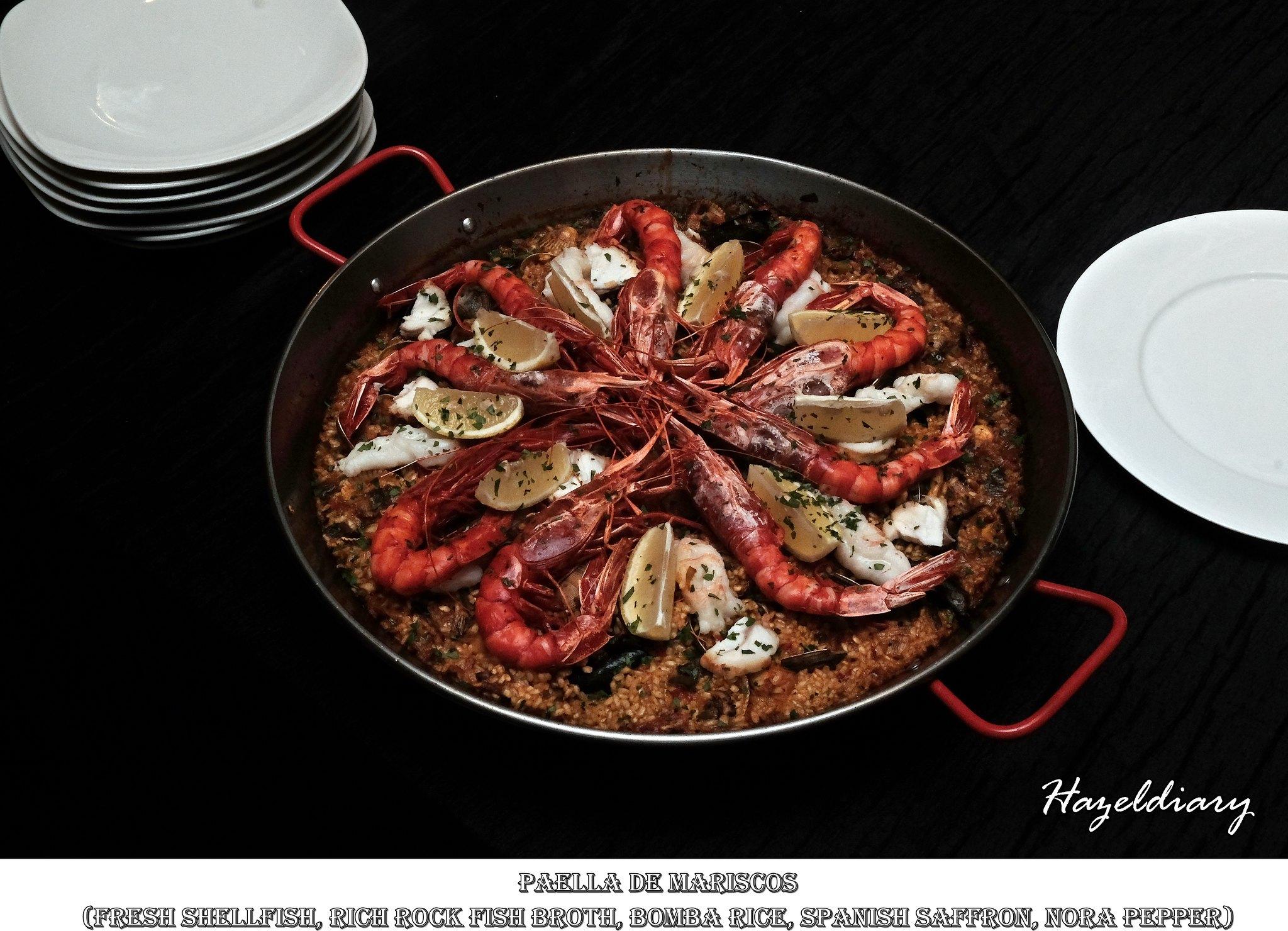 Capella The Knolls-Spanish Gourmet-Paella-Hazeldiary