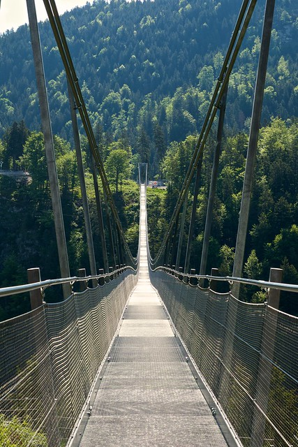 Längste Hängebrücke Europas