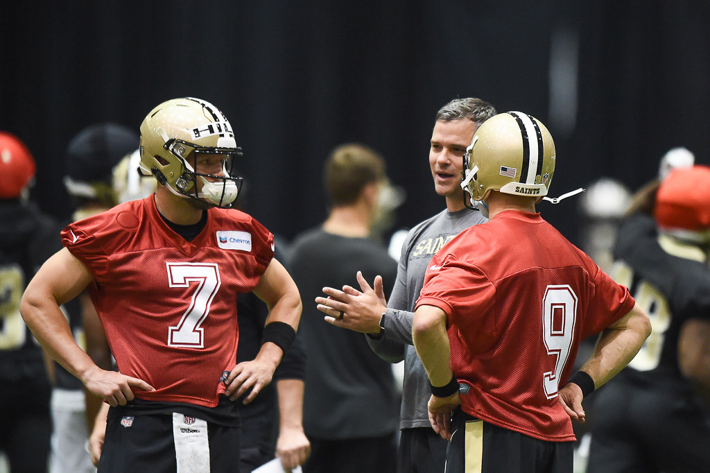 Taysom Hill, Drew Brees