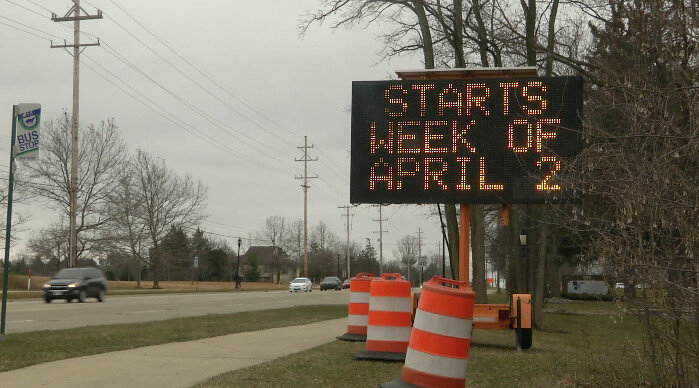 Major Construction Work on Jolly/Okemos Intersection Beginning Soon