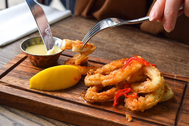 Calamari at Deakins, Canterbury #calamari #lunch #canterbury