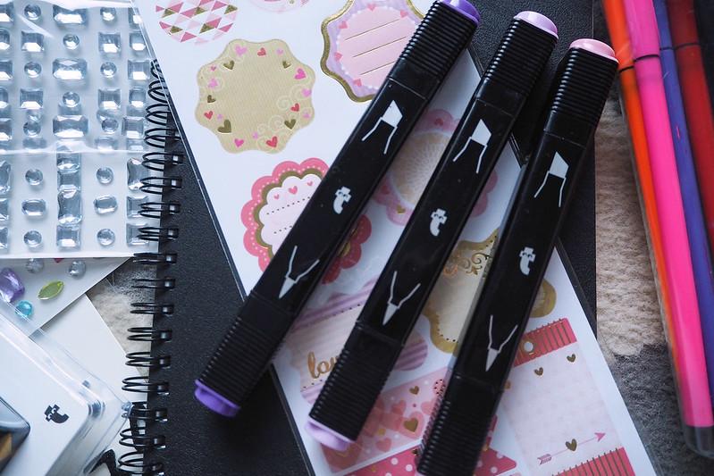 blogivihko bullet journal tyylillä 2