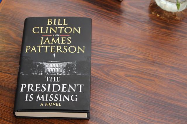 The President is Missing, Bill Clinton et James Patterson + Donald Trump - London Book Fair 2018