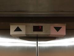 OTIS Lexan elevators in building near airport
