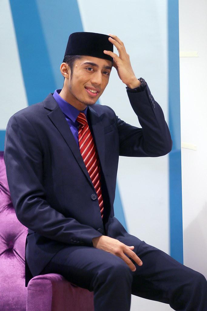 Pembaca berita Arab - Syed Amir