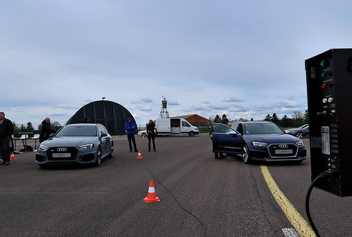 Audi Sport Experience Driving RS3 RS4 RS5 RS6 R8 V10 avec Cars Passion