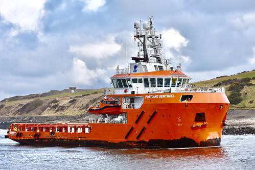 Portland Sentinel - Aberdeen Harbour Scotland - 29/3/2018