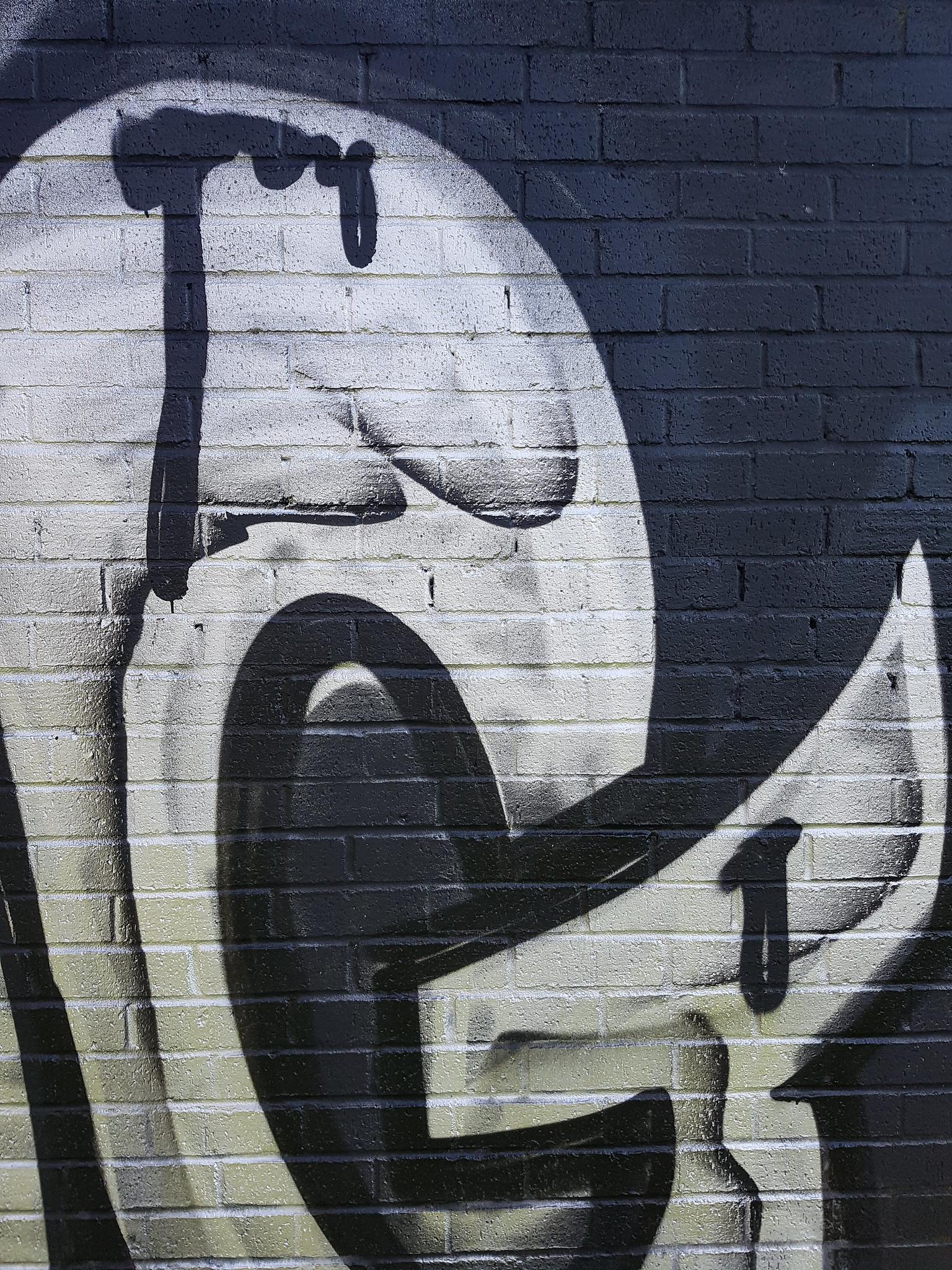 WG graffiti, Jubilee Park, Cardiff