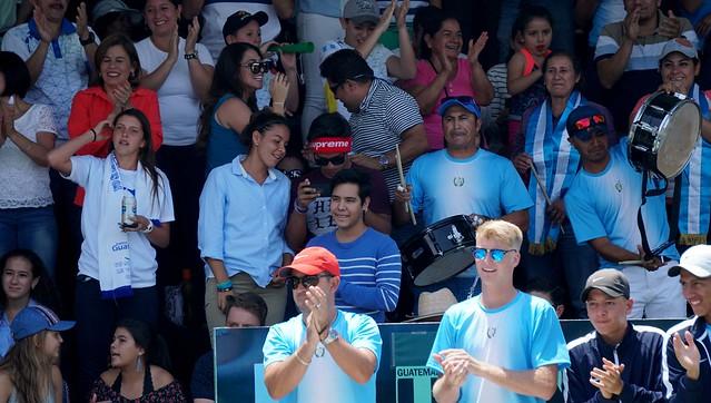 Copa Davis, Guatemala vence a El Salvador