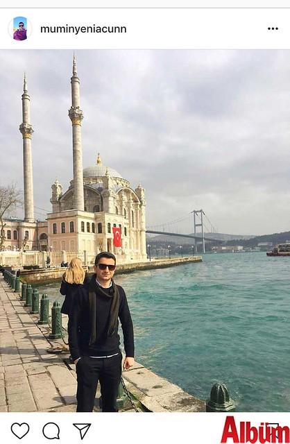 Mümin Yeniacun, İstanbul'da çektirdiği bu fotoğrafı #tb etiketiyle paylaştı.