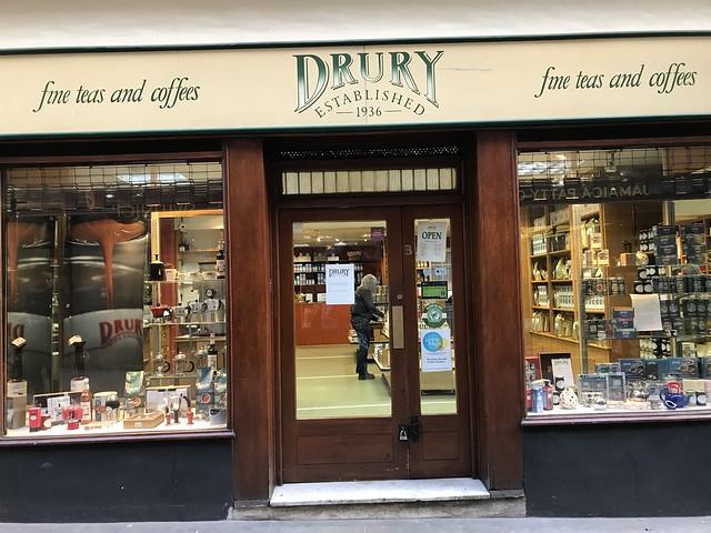 Drury fine teas,  London