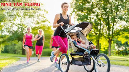 Tập thể dục là 1 trong những cách điều trị bệnh rối loạn nhịp tim hiệu quả