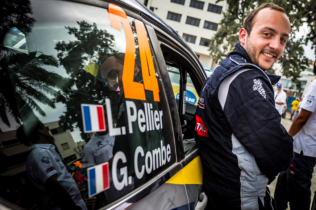 PELLIER Laurent (FRA), COMBE Geoffrey (FRA), SAINTELOC JUNIOR TEAM, PEUGEOT 208 Vti, portrait during the 2018 European Rally Championship ERC Cyprus Rally,  from june 15 to 17 at Larnaca, Cyprus - Photo Thomas Fenetre / DPPI