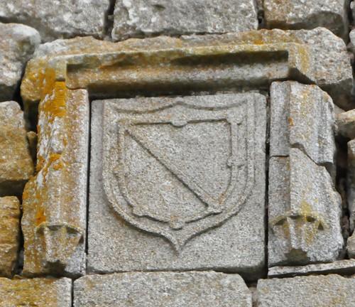 Galve de Sorbe (Guadalajara-España). Castillo de los Zúñiga. Escudo