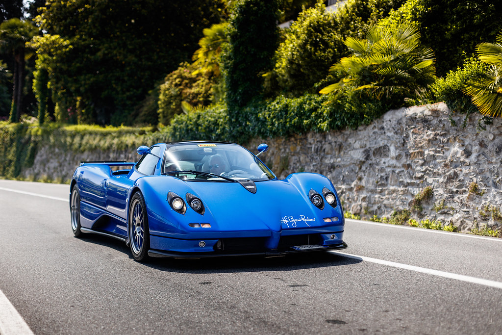 Horacio Pagani himself.