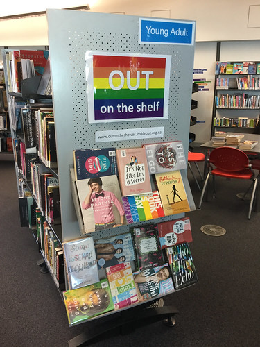 Out on the shelves display - New Brighton