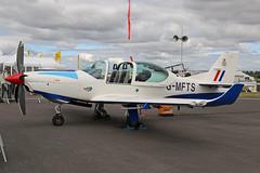 G-MFTS Grob G120TP-A Royal Air Force RAF Fairford RIAT 14th July 2017