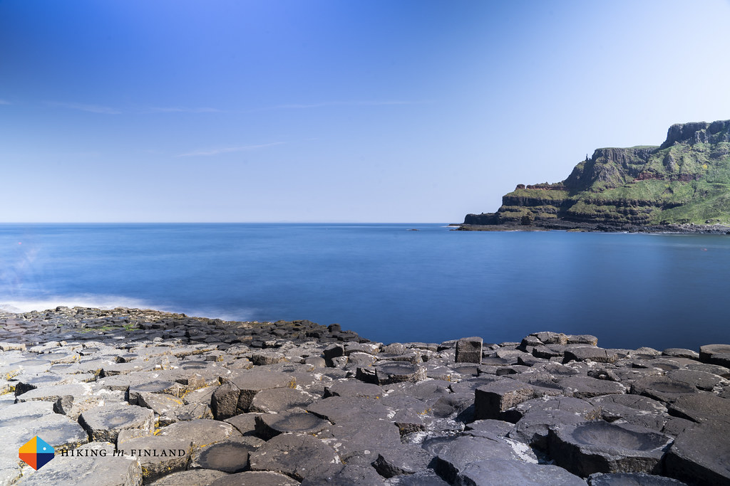 Daytime at The Giant's Causeway