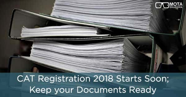 cat registration starts soon keep your documents ready