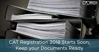 CAT registration 2018