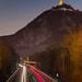 Leuchtspuren und Drachenfels by frank_landsberg