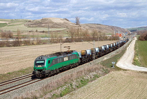 Tramesa  Bilbao Mercancías - Aranda de Duero a cargo de la