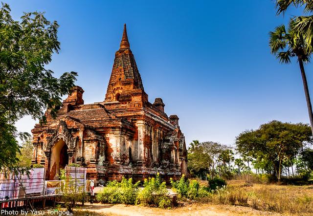 Gu Byaukgyi Paya of Bagan Myanmar-28a