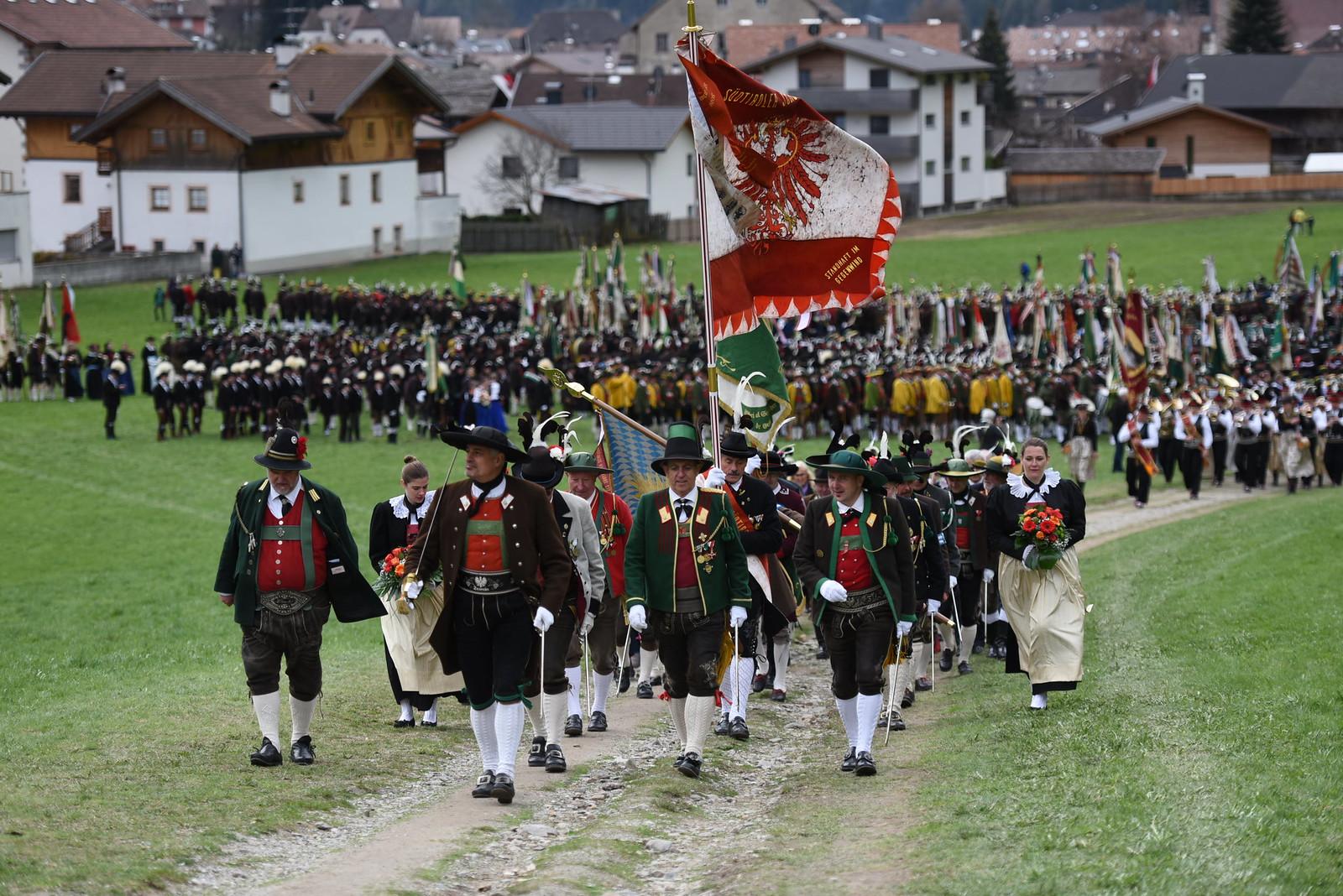 60 Jahre Südtiroler Schützenbund in Sarnthein, 15.04.2018