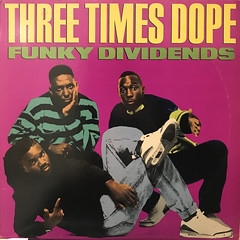 THREE TIMES DOPE:FUNKY DIVIDENS(JACKET A)