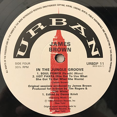 JAMES BROWN:IN THE JUNGLE GROOVE(LABEL SIDE-D)