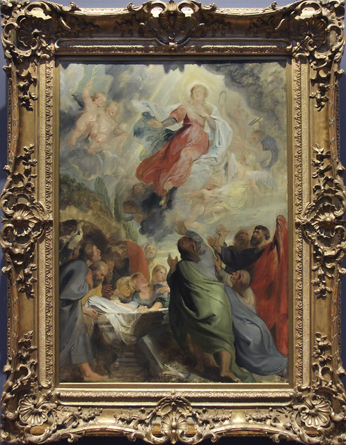 The Assumption of the Virgin, Peter Paul Rubens, c.1616